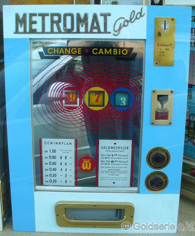 Metromat Gold (blaue Frontschscheibe)