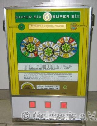 Super Six (gelb-grüne Frontscheibe)