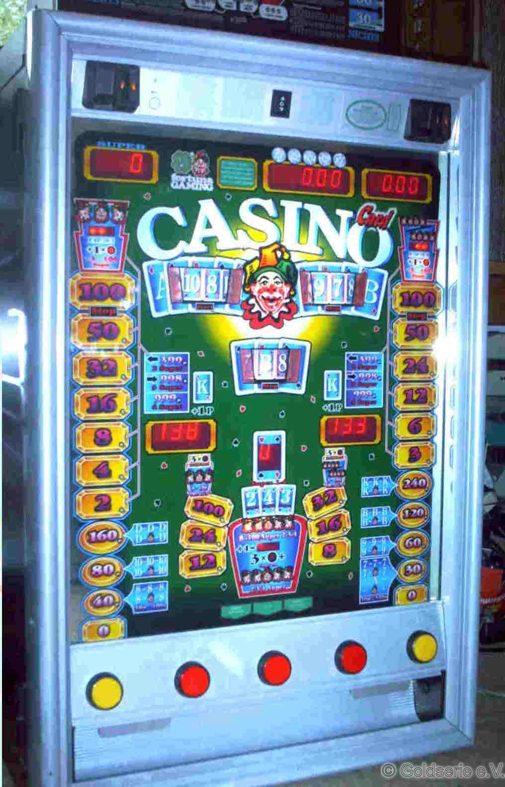 Casino Card (silberner Rahmen)