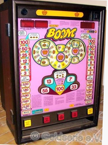Boom, Crown, Bergmann, 1988, rosa