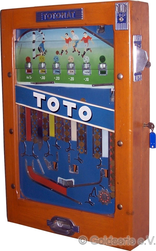 Totomat Toto, Wulff, 1950