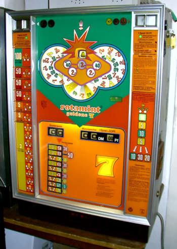 spielautomat rotamint goldene 7