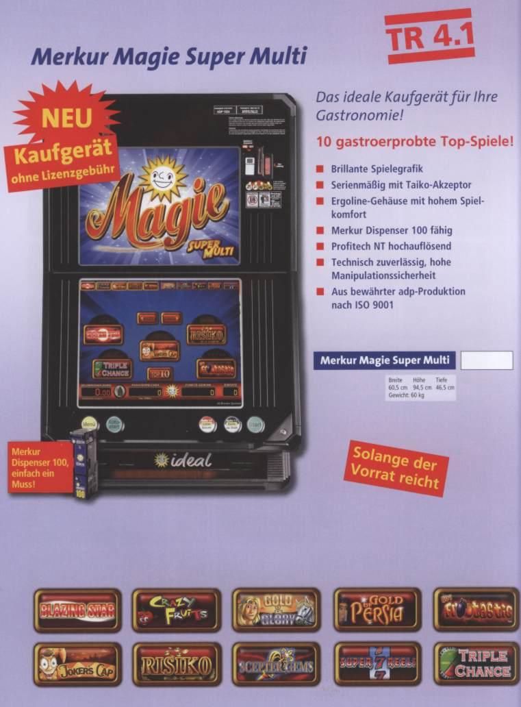 Merkur Magie Spielepakete
