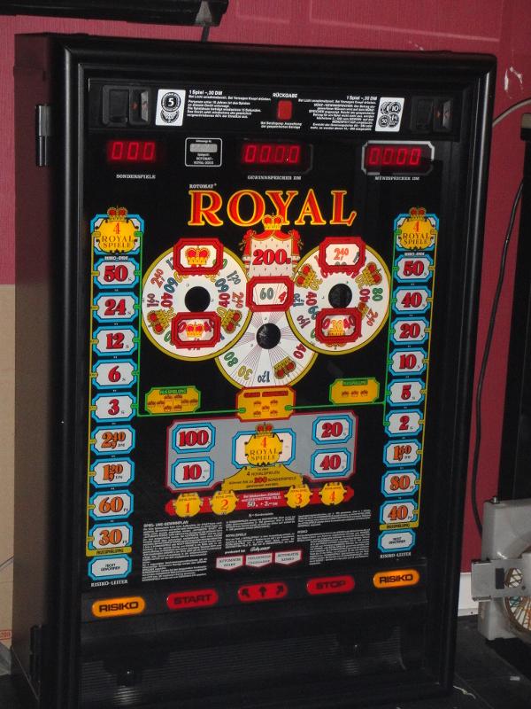 Royal 200 S Rotomat Bally Wulff 1986 schwarz